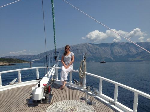 Katie in Croatia July 2013