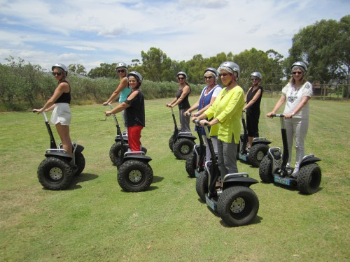 Christmas 2013 group Segway Shot